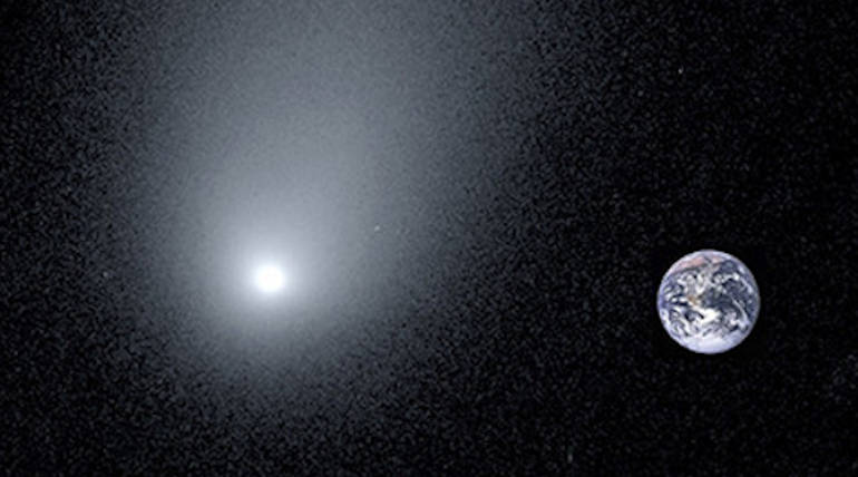 Yale Astronomers Released the New Image of an Interstellar Comet