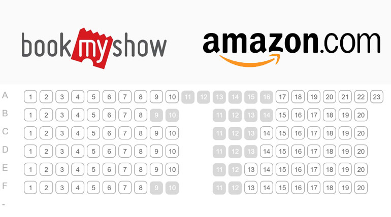 Book Movie Tickets In Amazon-BookMyShow platform with Cashback