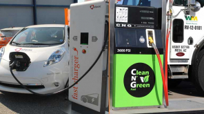 Electric and CNG Vehicle