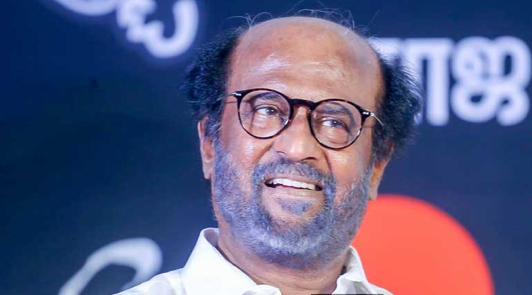 Rajinikanth on BJP: No One Could Saffronise Me Or Thiruvalluvar. Image Silverscreen