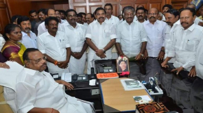 Assembly Election 2019: Vikravandi and Nanguneri ADMK candidates were honored