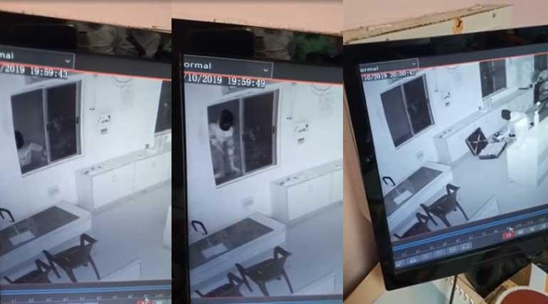 Trichy BHEL Co-operative Bank Robbery CCTV Video