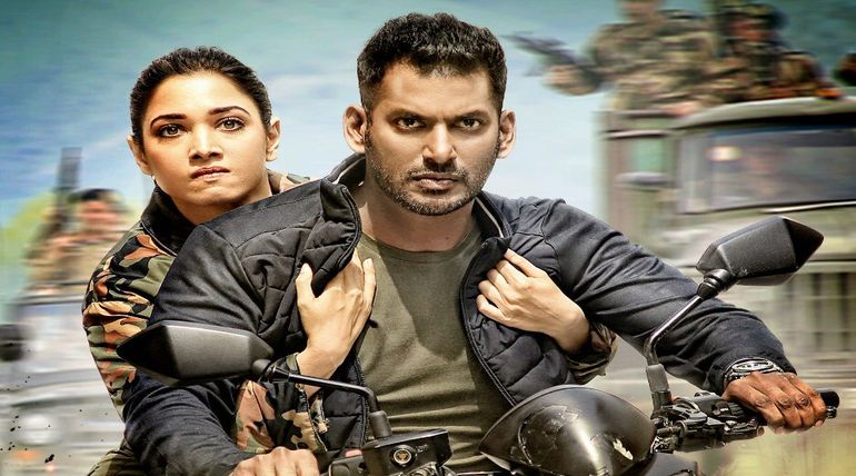 Actor Vishal starring Action movie releases this November 15