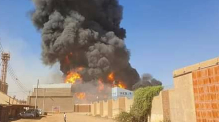Sudan factory fire accident: 3 Tamils Dead. Image Credit: FB/Mohamed Ibrahim Abdullah