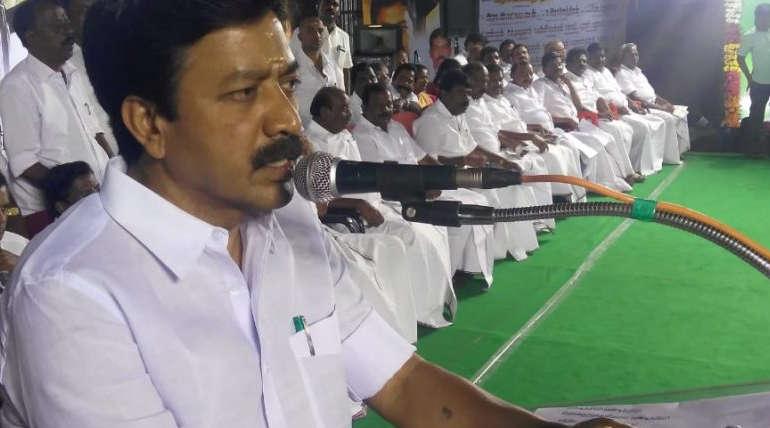 Minister C V Shanmugam criticizes DMK leader Stalin