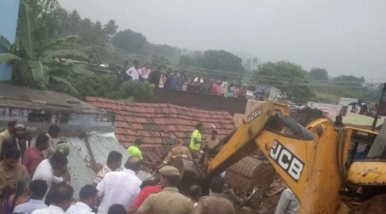 Coimbatore Wall Collapse: The accused may be booked under SC and ST Act
