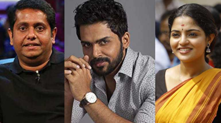 A recent Interview With Karthi, Nikhila Vimal and Thambi Movie Director