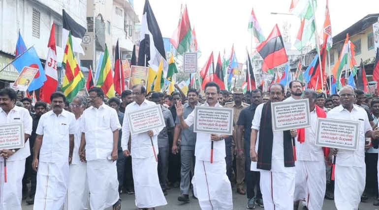 DMK Chief Stalin Says, Protest Against CAA will Continue