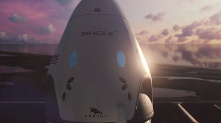 Elon Musk Shared a Video About the Crew Dragon of SpaceX