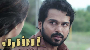 Thambi trailer is awash with thrills and actions