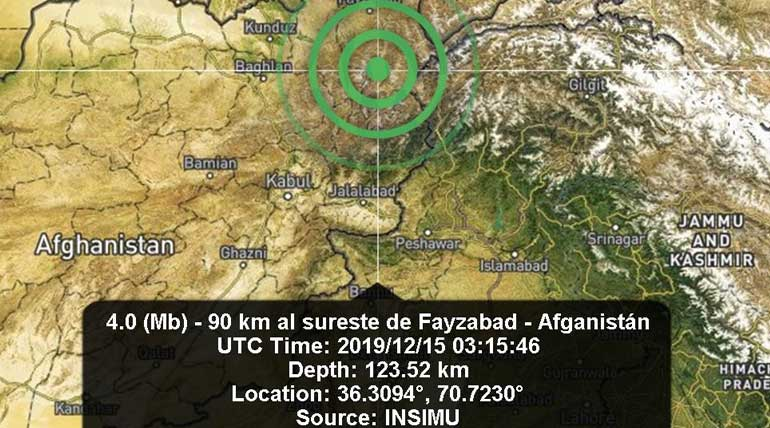 Earthquake hits Afghanistan with its tremors felt in many parts of North India