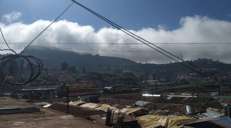 Ooty Weather on December 8, 2019