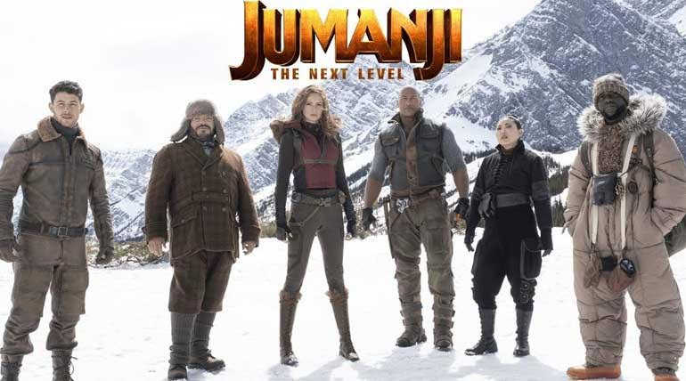 Jumanji: The Next Level Movie Poster. Image Credit: Columbia Pictures