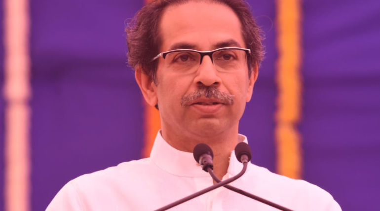 Chief Minister Uddhav Thackeray. Image Courtesy: Twitter/OfficeofUT