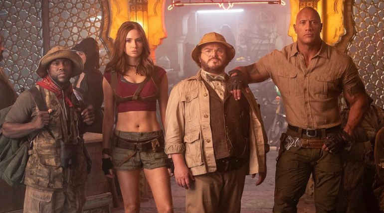 Jumanji: The Next level Top Box office Collection in India