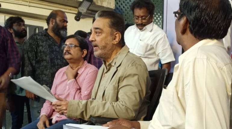 Kamal Haasan Says Democracy is in ICU because of Citizenship Amendment Bill. Image Courtesy: Twitter/ MNM