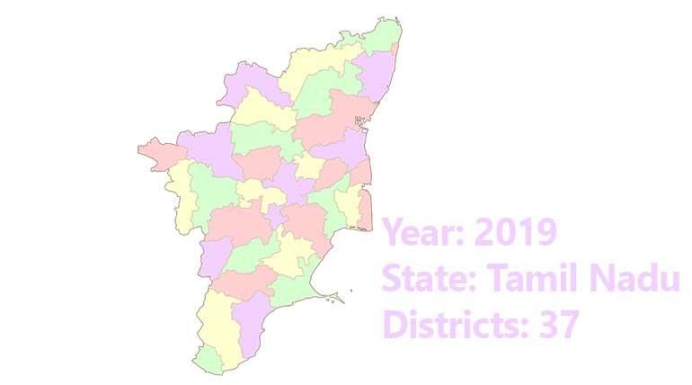 New Districts in Tamil Nadu 2019