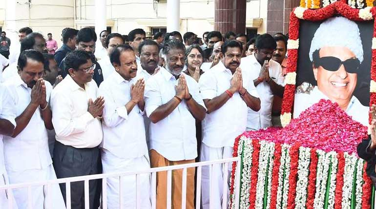 MGR: the cultural and political icon of Tamil Nadu