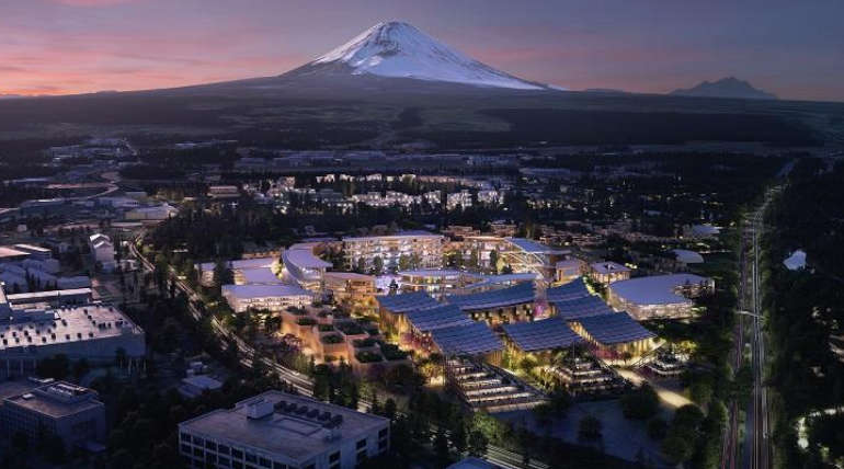 Toyota Motor Corp to Build a Future City Near Mount Fuji