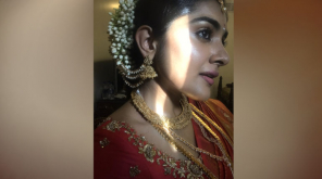 Nivetha Thomas Shared a Photo From Darbar Shoot Spot
