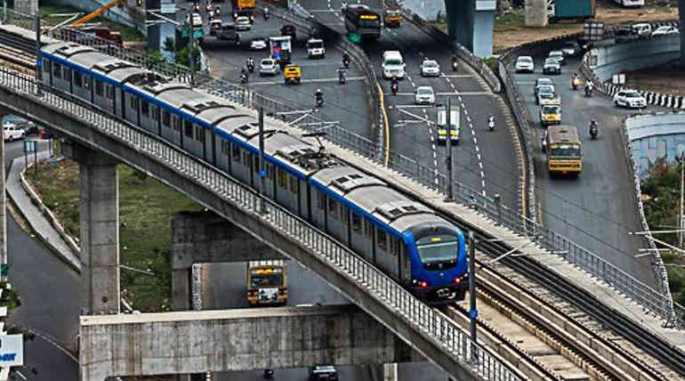 Chennai Metro Rail To Charge 50 Percent Less in this Pongal Holidays