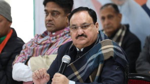 JP Nadda Becomes the National President of BJP