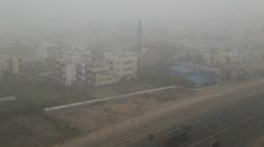 Unusual Heavy Fog in Chennai Flights Delayed