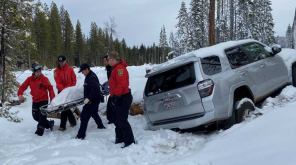 Paula Beth James Survived Six Days in Snow. Image Butte County Sheriff Office