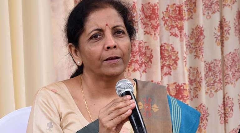 Nirmala Sitharaman- Finance Minister of India