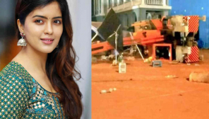 Amritha Aiyer on Indian 2 Accident