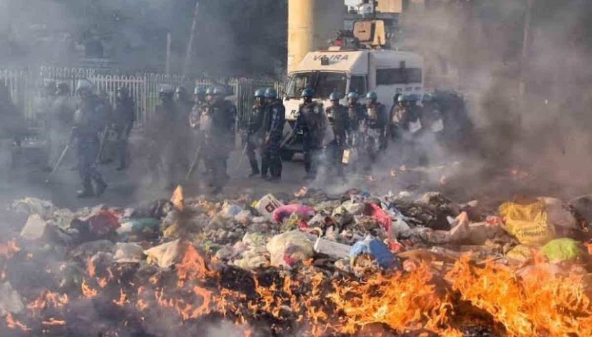 Riots in Delhi