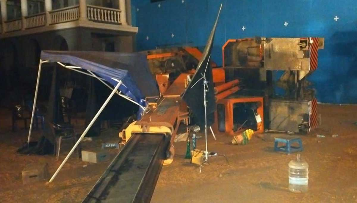 Indian 2 Shooting Spot Crane collapsed and killed three people on the spot