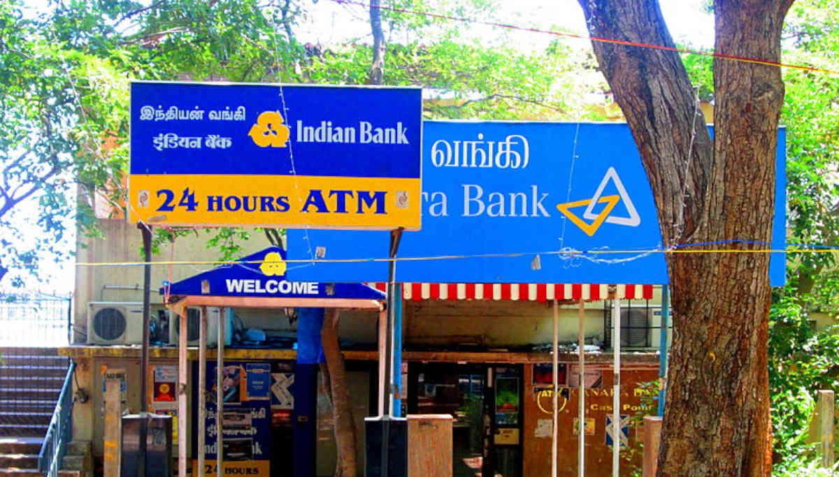 Indian Bank ATM / Representation