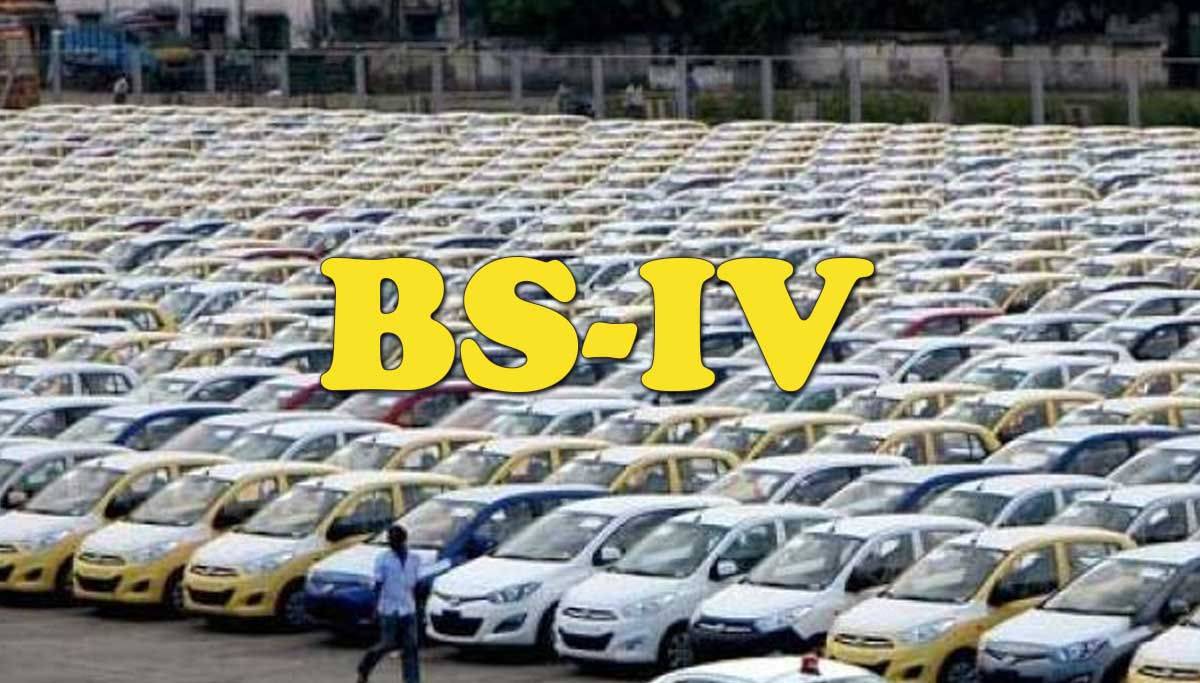 BS-IV vehicles