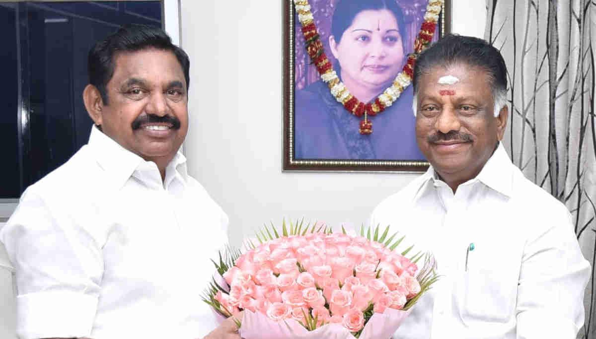 CM Edappadi Palaniswami and Deputy O Pannerselvam