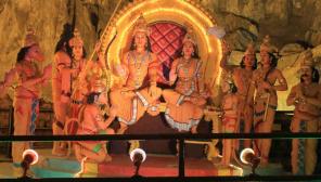 Ramayana Depiction / Image - Flickr/Robert Wilson