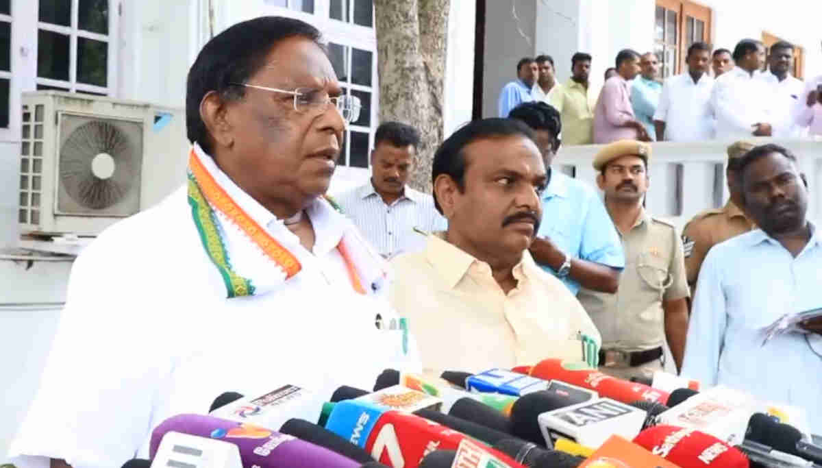 CM of Puducherry - V Narayanasamy