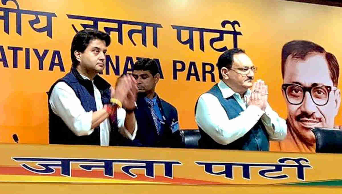 Jyotiraditya Scindia Joined BJP Before JP Nadda