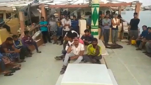 Indian Fishermen in Iran
