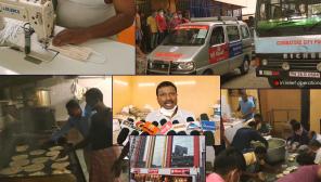 Coimbatore Shree Devi Textiles Donates Rs. 1 Crore