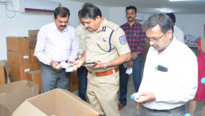 Hyderabad Police Busted Duplicate Hand Sanitizer Manufacturing Units