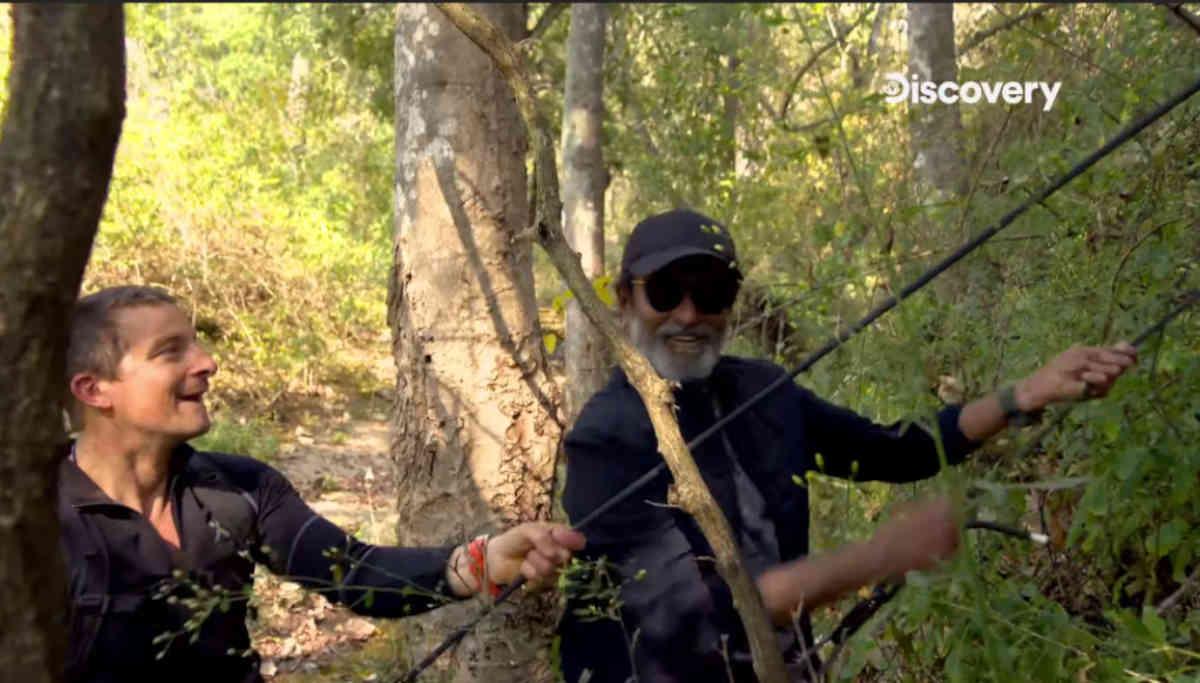 Rajinikanth Into the Wild with Bear Grylls Sneak Peek