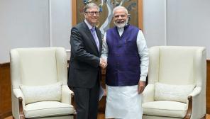Bill Gates praises Prime Minister Modi