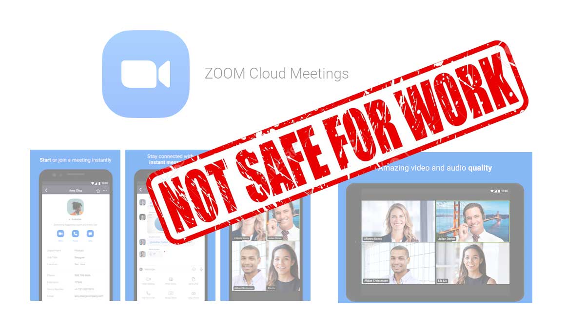 Ministry of Home Affairs says Zoom Video Conferencing App is no Longer Safety