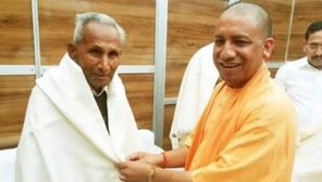 UP CM Yogi Adityanath Father died