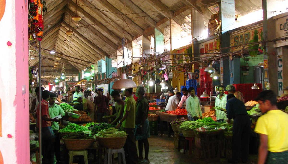 Online Vegetable sale from Koyambedu Market