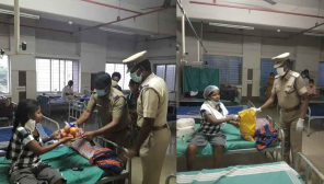 Coimbatore: Senior police officer fulfils migrant workers need as soon as the information received at hospital.