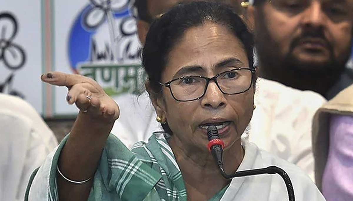 Mamta Banerjee prepares to stay in the control room tonight