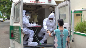 Medical Team undergoing area wise inspection in Chennai