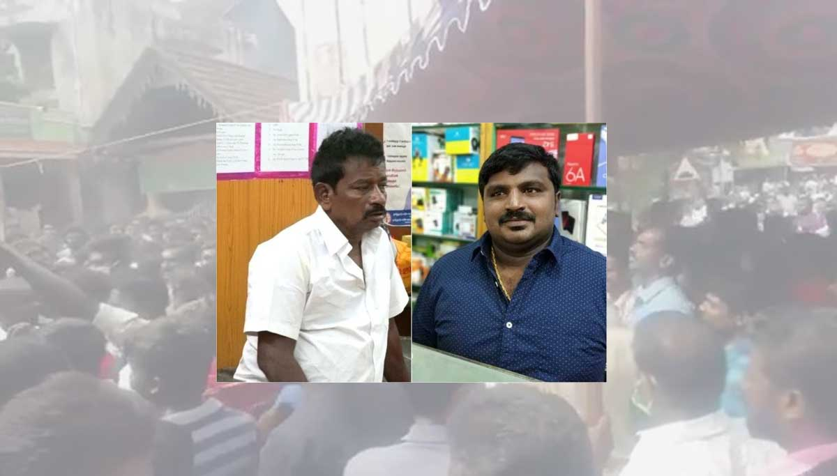Sathankulam father-son body cremation